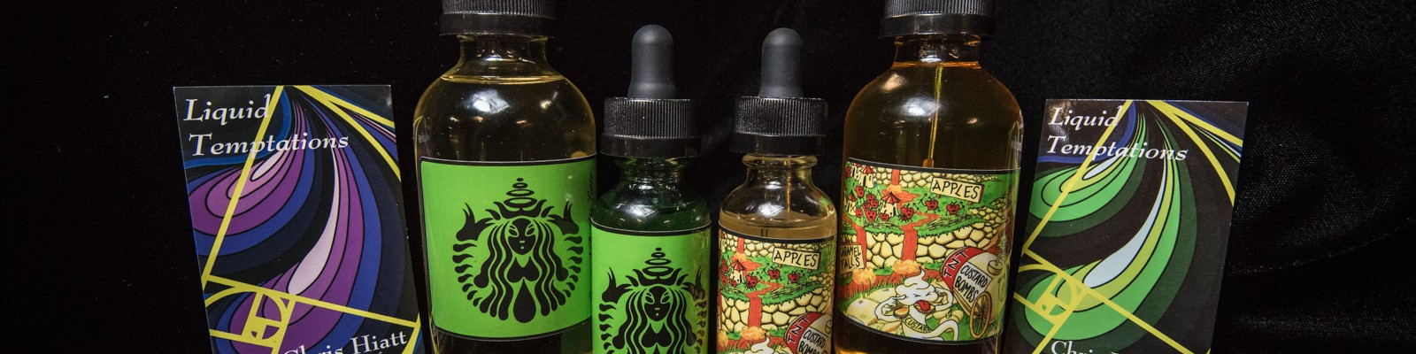 E-Liquid / E-Juice – Liquid Temptations